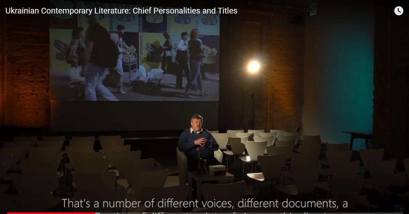 Ukrainian Contemporary Literature: Chief Personalities and Titles